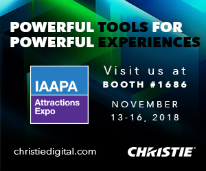 Visit Christie at IAAPA