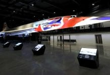 concorde projection artworks bristol aerospace