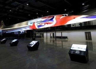 concorde projection artworks bristol aerospace
