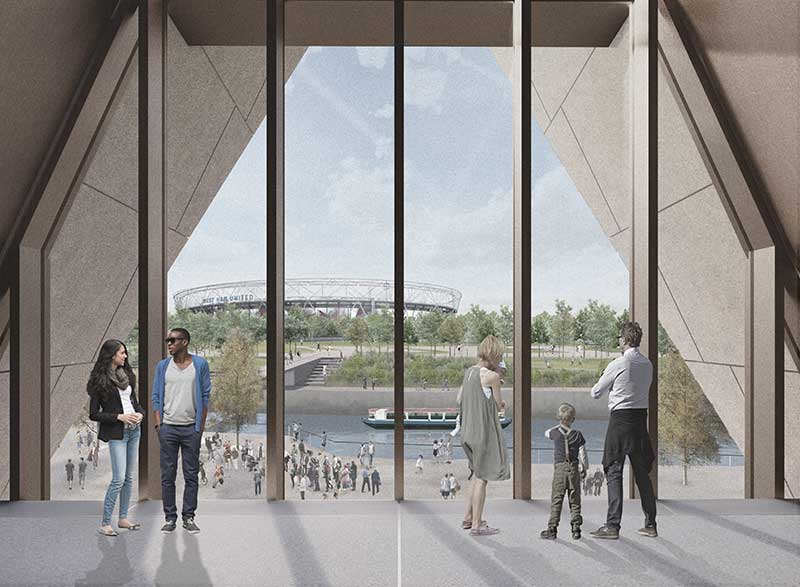 v&a east rendering
