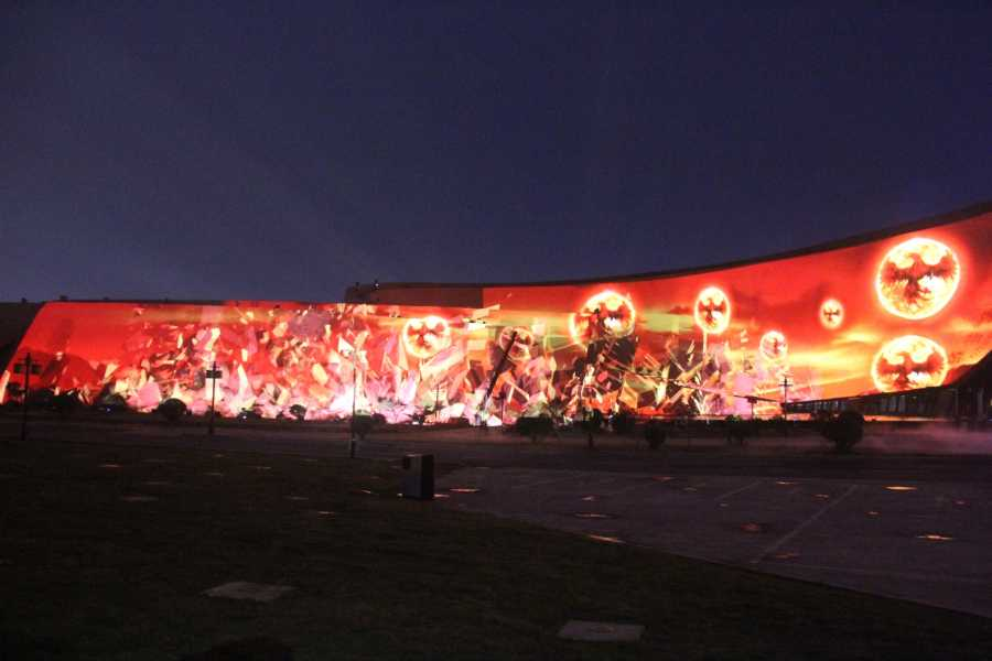 dongyi cultural museum multimedia show