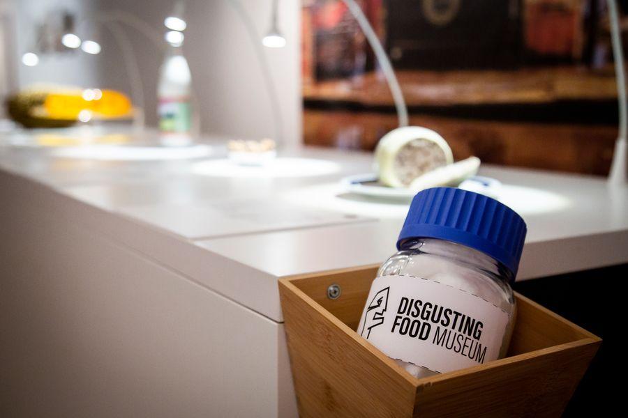 Smell jar, Disgusting Food Museum