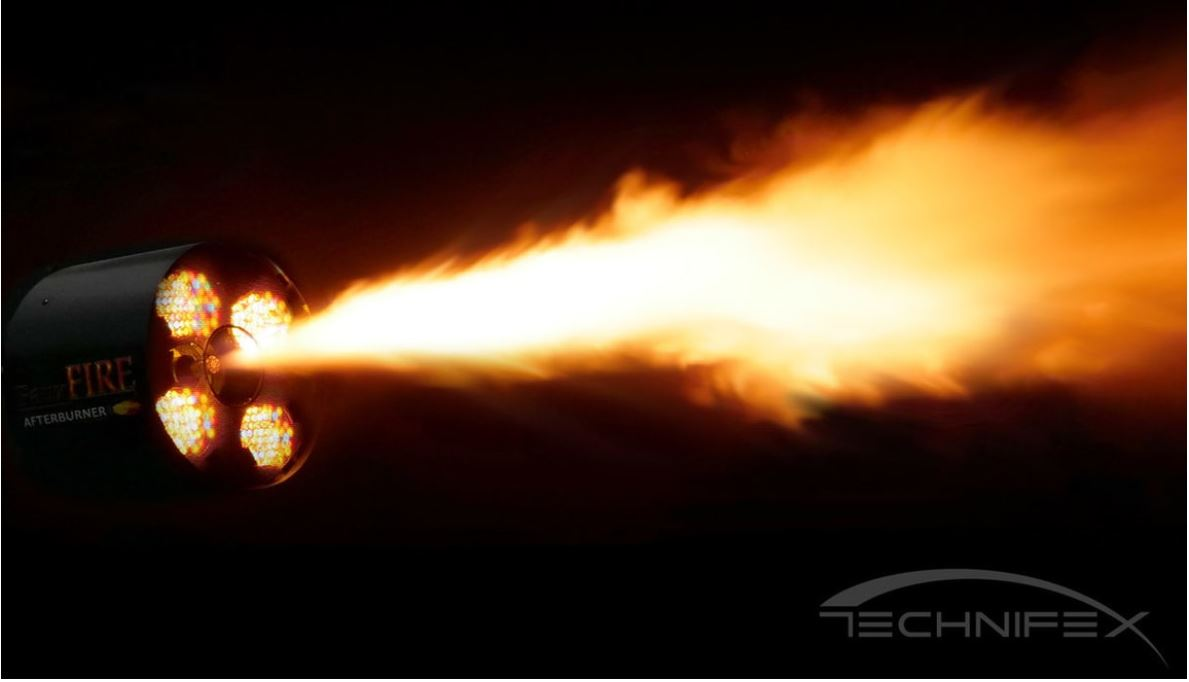 technifex fauxfire afterburner