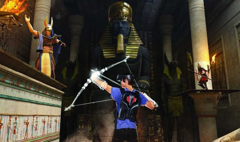assassins creed temple of anubis vr maze VR experiences