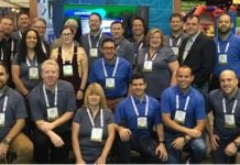 gateway ticketing team shares expertise at iaapa team