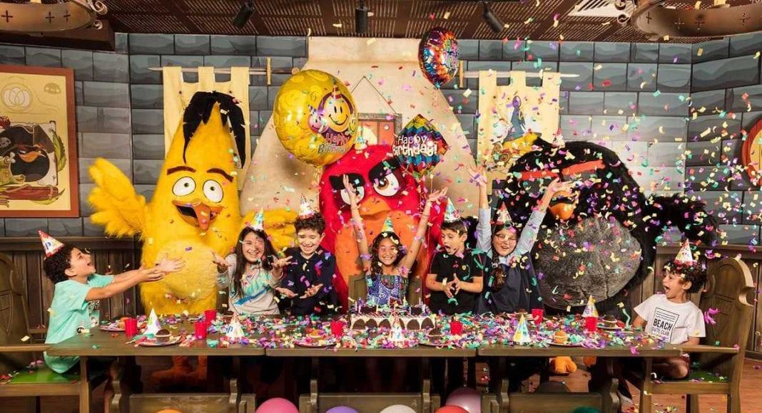 Angry Birds Rovio_Birthday_Room_Qatar
