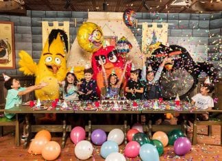 Angry Birds Rovio_Birthday_Room_Qatar