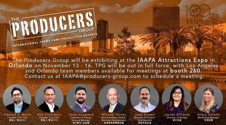 the producers group at iaapa 2018