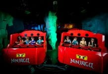 triotech ninjago the ride