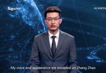 AI news anchor