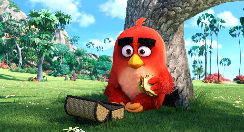 the angry birds movie from rovio red bird.
