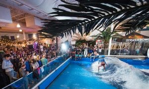 indoor surfing offshore surf at MAPIC - Oasis Surf