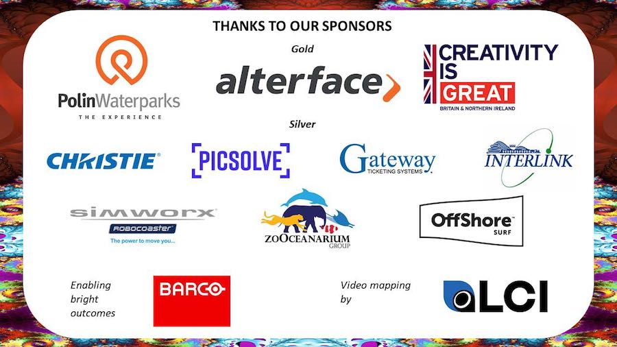 blooloop iaapa party 2018 sponsors.