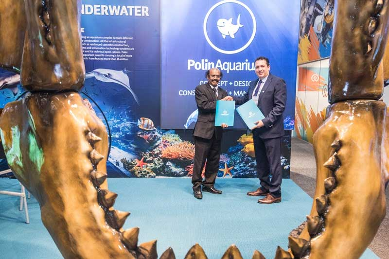 Polin Aquariums VGP Marine Kingdom India