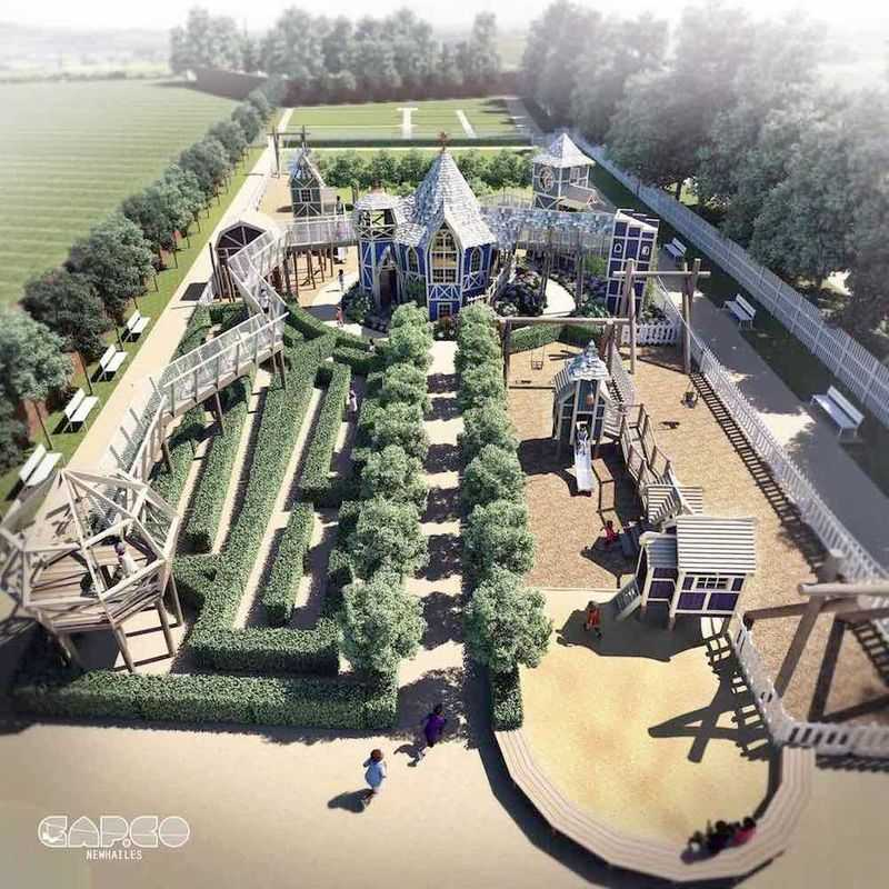 CAPCO-The-Newhailes-Walled-Garden-Play-Area-Overview