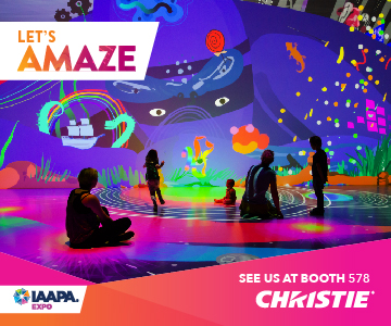 Christie AV Projection IAAPA 2019