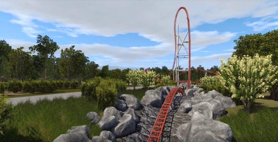 Parc Asterix New Intamin Coaster