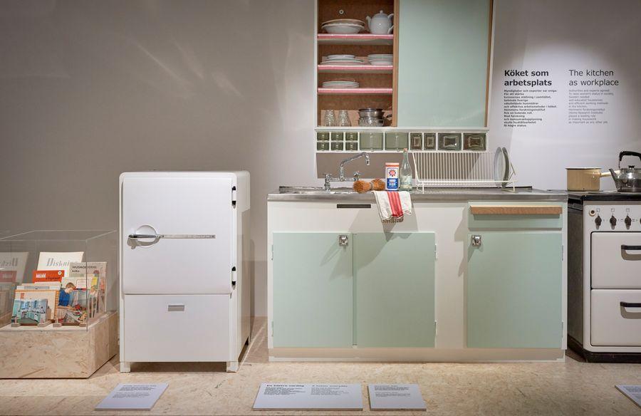 IKEA Museum, 1940s style kitchen