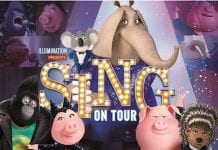 sing on tour universal japan
