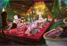 First look at Tokyo Disneyland's Beauty and the Beast ride