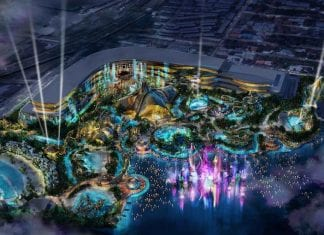 WhiteWater-Cirque-du-Soleil-waterpark_Birds-eye-view-night