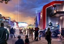 Disneyland Paris Marvel Entry Concept