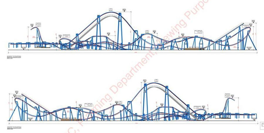 Tayto Park Coaster concept