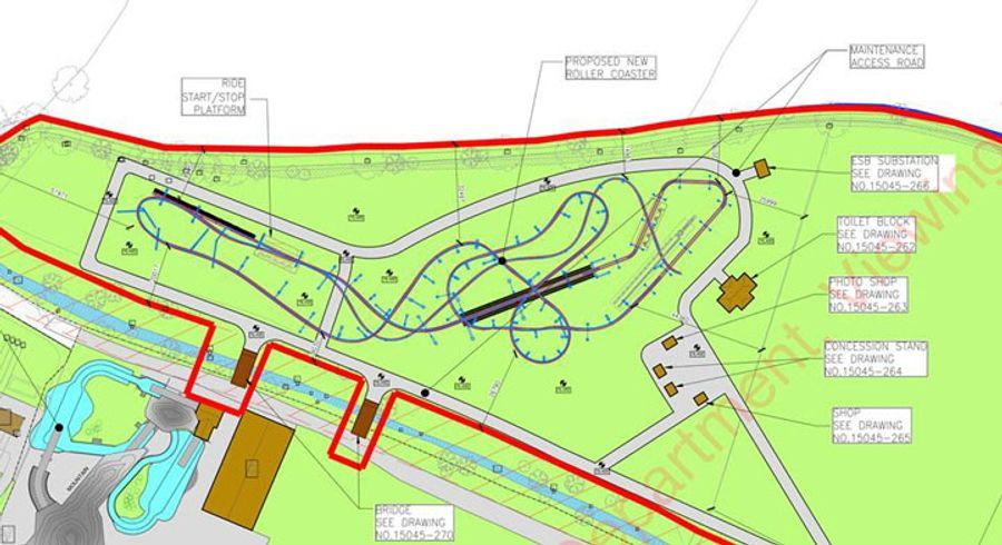Tayto Park new steel rollercoaster