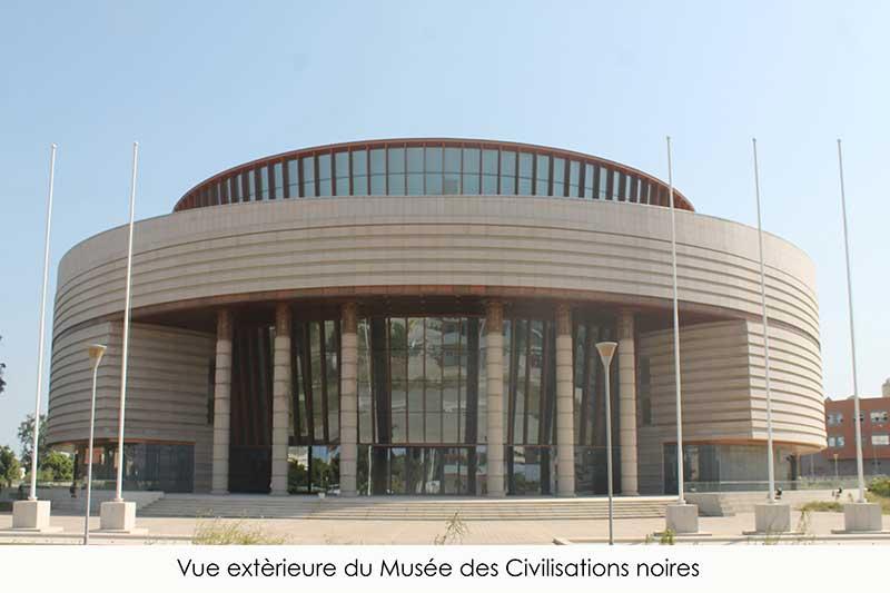Museum of black civilisation senegal africa