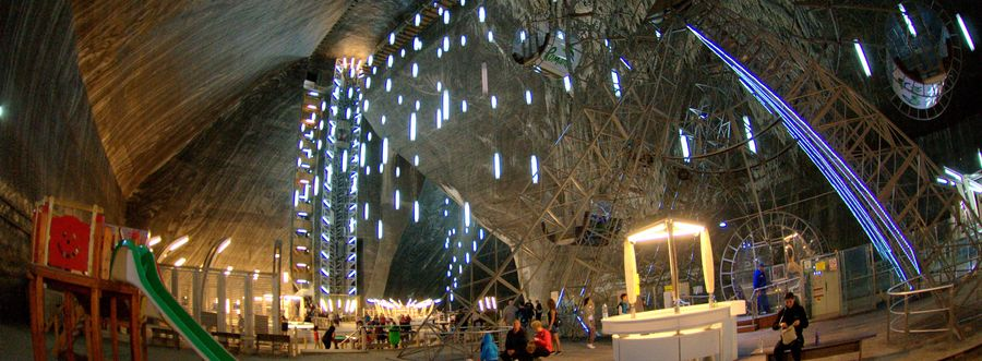 Salina Turda, unusual attractions