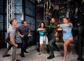 Aquaman, Madame Tussauds