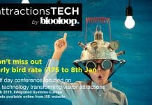 attractions tech by blooloop ISE early bird