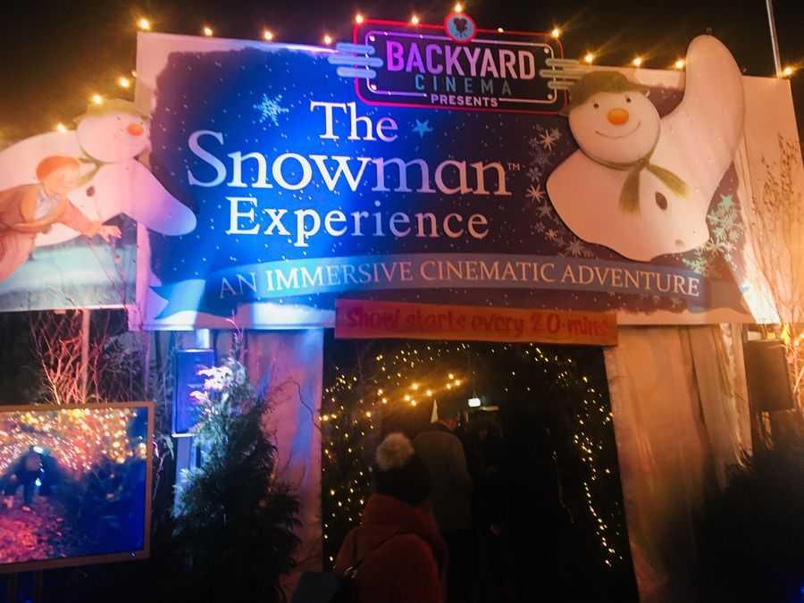 Backyard Cinema, The Snowman Experience