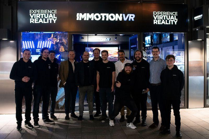 ImmotionVR Wembley-opening-team