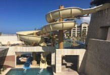 Slide at Grand Solmar Mexico by Cloward H2O