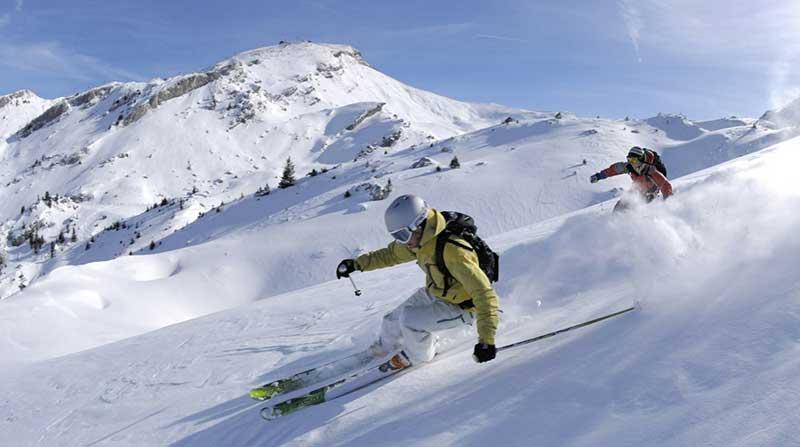 a ski resort