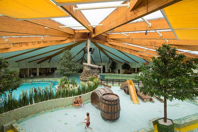 Spreeweltenbad Lubbenau waterpark redesign by dan pearlman
