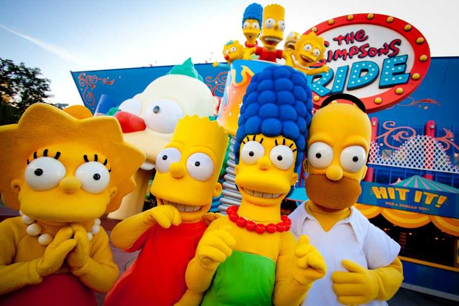 The Simpsons, Universal Studios Florida