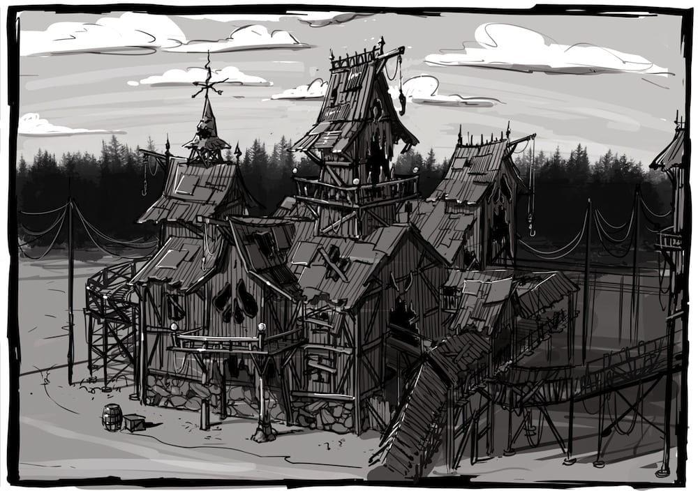 Majaland-Kownaty-woodie-station-sketch