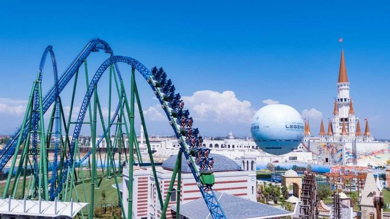 The Land of Legends Hyper Coaster
