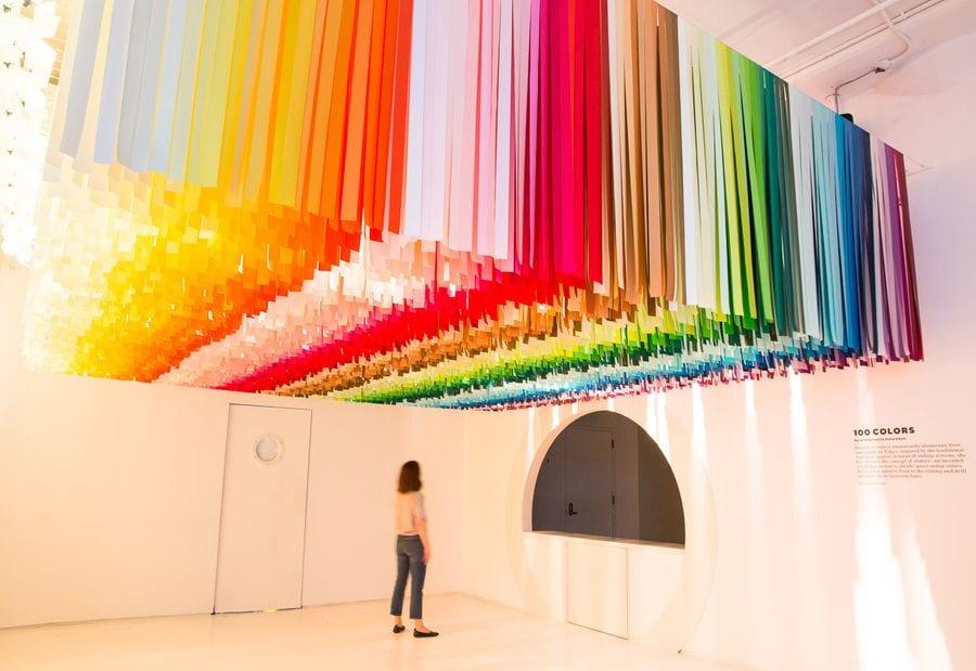 100 Colors, NYC Color Factory