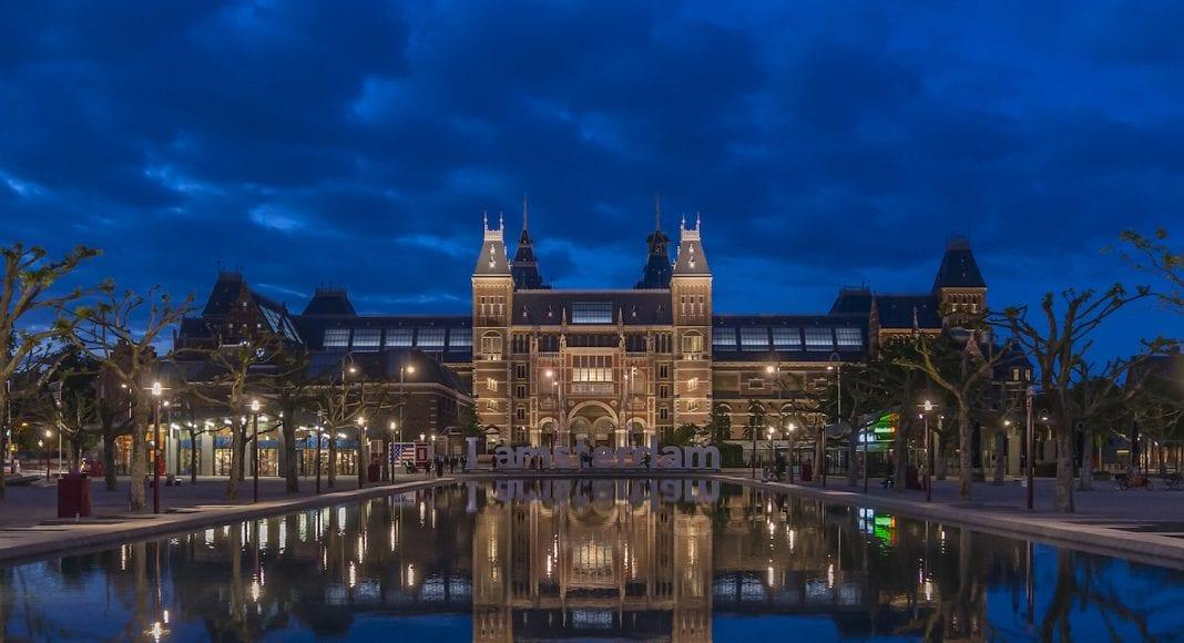Rijksmuseum at night museum