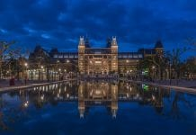 Rijksmuseum at night museum