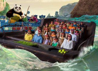 Simworx Cobra Kung Fu Panda Ride