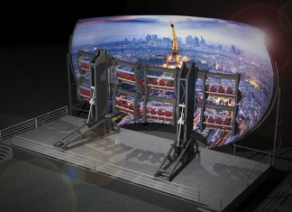Simworx Mini Flying Theatre Concept Paris
