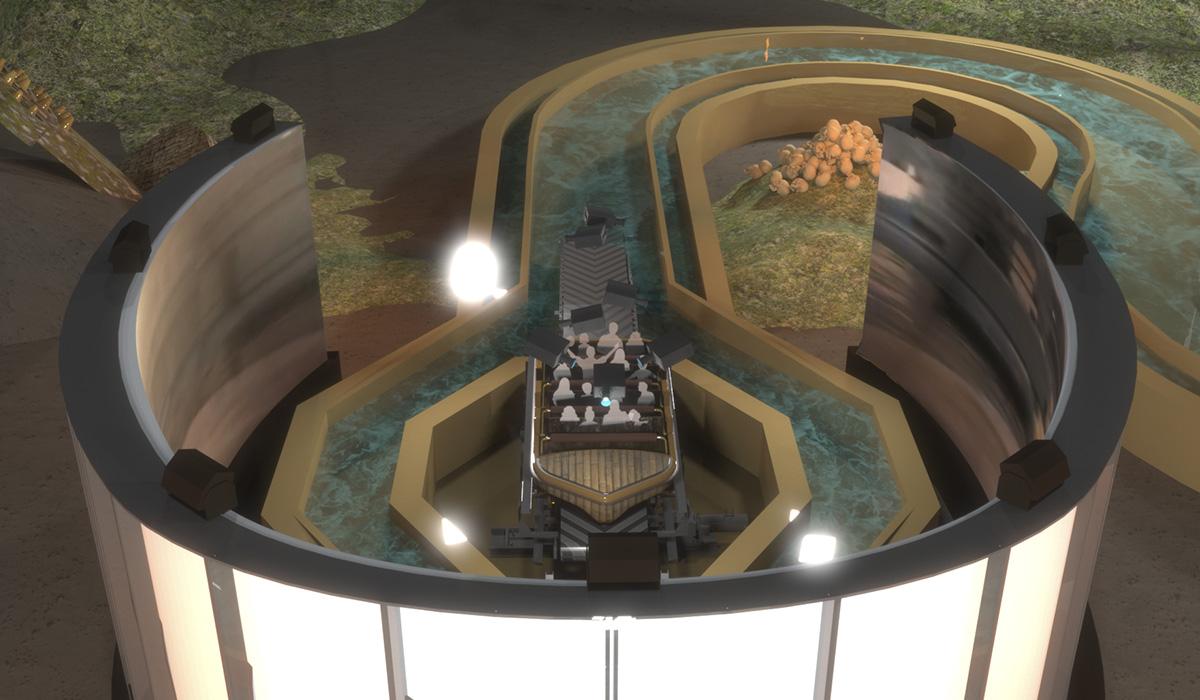 Simworx Immersive Superflume Concept Art