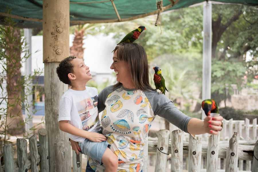 Lory Landing, San Antonio Zoo