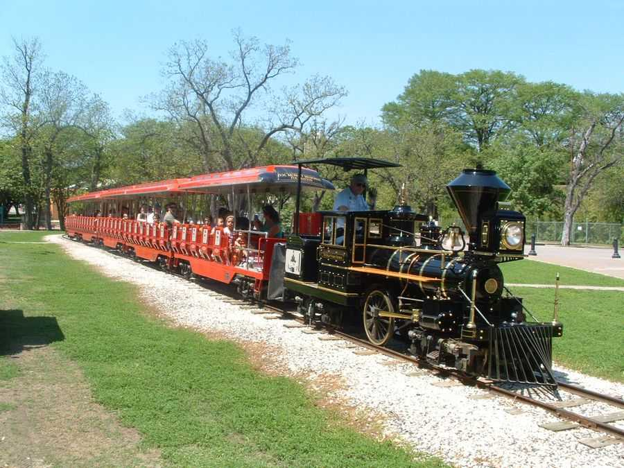 Zoo train, San Antonio Zoo