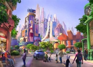 zootopia themed land at shanghai disneyland