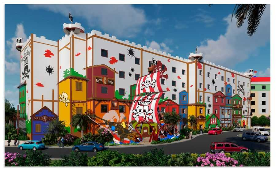 Legoland Florida Pirate Island Hotel Concept